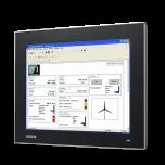 "FPM-7151T-R3AE 15"" XGA Ind Monitor w/Resistive TS (VGA"