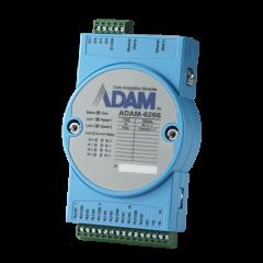 Advantech 4-ch Relay Output Modbus TCP Module with 4-ch DI