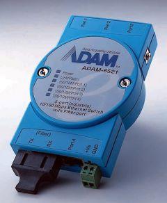 Advantech 5-port Unmanaged Ethernet Switch w/ MM SC Fiber