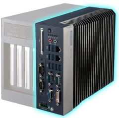 Advantech Compact Fanless System with Intel Core i CPU Socket