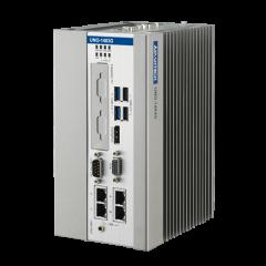 Advantech Intel Core i3 Regular-Size DIN-Rail Controller w/ 4 x GbE, 2 x mPCIe, 1 PCIe