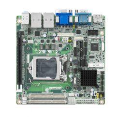 Advantech Intel Core i7/i5/i3 LGA1150 Mini-ITX with VGA/DP/HDMI/LVDS(eDP), 2COM, Dual LAN, PCIe x16