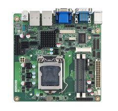 Advantech SNB H61 MINI ITX w/VGA,LVDS,DVI,2GbE,6COM