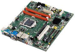 Advantech Intel Core i7/i5/i3 LGA1150 MicroATX with CRT/DVI/LVDS, 10 COM, 4 USB 3.0