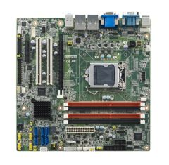 Advantech Intel Xeon E3/ Core i7/i5/i3 LGA1150 MicroATX with CRT/DVI/eDP/LVDS/DP