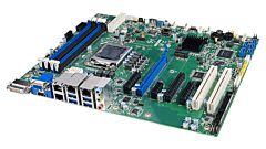 ASMB-787 LGA 1200 Intel® Xeon® W 10th Gen. Core™ ATX Server Board with 4 x DDR4, 5 x PCIe, 2 x PCI, 4 x USB 3.2, 5 x SATA 3, Quad/Dual LANs, and IPMI