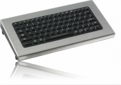 iKey Backlit Keyboard in Stainless Steel Case