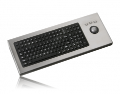 iKey Keyboard with Integrated Trackball DT-2000-TB