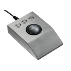iKey Stainless Steel Optical Trackball
