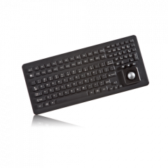 iKey Keyboard with Integrated Trackball