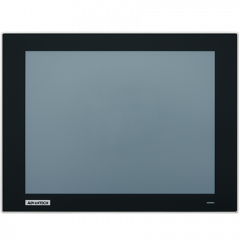 Advantech FPM-200 Series Industrial Resistive Touch Control Monitors - IP66 front bezel