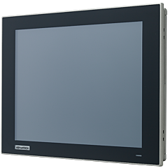 """FPM-212 12"""" XGA Industrial Monitors with Resistive Touch Control, Direct HDMI, DP, and VGA Ports"""