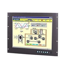 "Advantech 19"" SXGA Industrial Monitor with Resistive Touchscreen, Direct-VGA and DVI Ports"