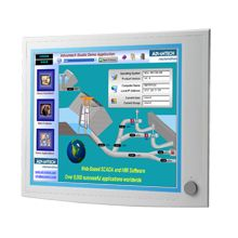 "Advantech 19"" SXGA Industrial Monitors with Resistive Touchscreens, Direct-VGA"