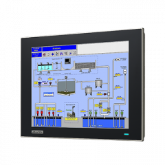 "Advantech 12.1"" XGA Industrial Monitor with Resistive Touchscreen"