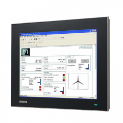"Advantech 15"" XGA Industrial Monitor with Resistive Touchscreen"