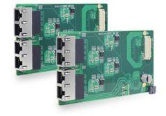 Neousys MezIO-G4P - 4-port Gigabit IEEE 802.3at PoE+ MezIO module
