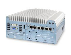Neousys Intel 8th-Gen Core i Fanless Controller with 6x GbE Ports and (2) PCIe Slots