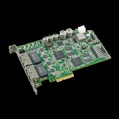 Advantech 4-port PCI Express Intelligent GigE Vision Frame Grabber