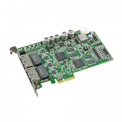 PCIE-1174-AE Advantech 4-port PCI Express Intelligent GigE Vision Frame Grabber