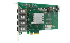 Neousys 4-Port Server-grade Gigabit 802.3at PoE+ Frame Grabber Card