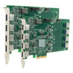 PCIe-USB380 - 8 port Host Adapter Card with 4x USB 3.1 controllers