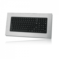 iKey Intrinsically Safe Stainless Steel Panel Mount Keyboard
