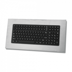 iKey Nonincendive Stainless Steel Panel Mount Keyboard