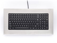 PM-1000 Stainless Steel Panel Mount Keyboard