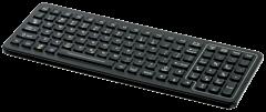 SLK-101C Backlit Industrial Keyboard with QuickLock