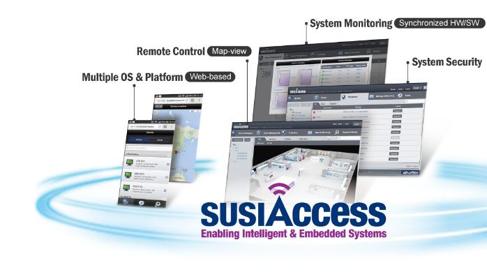 SusiAccess v3.0; The Smart, Ubiquitous, and Intelligent Remote Management Software by Advantech Corporation