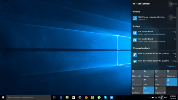 Getting Started in Windows 10